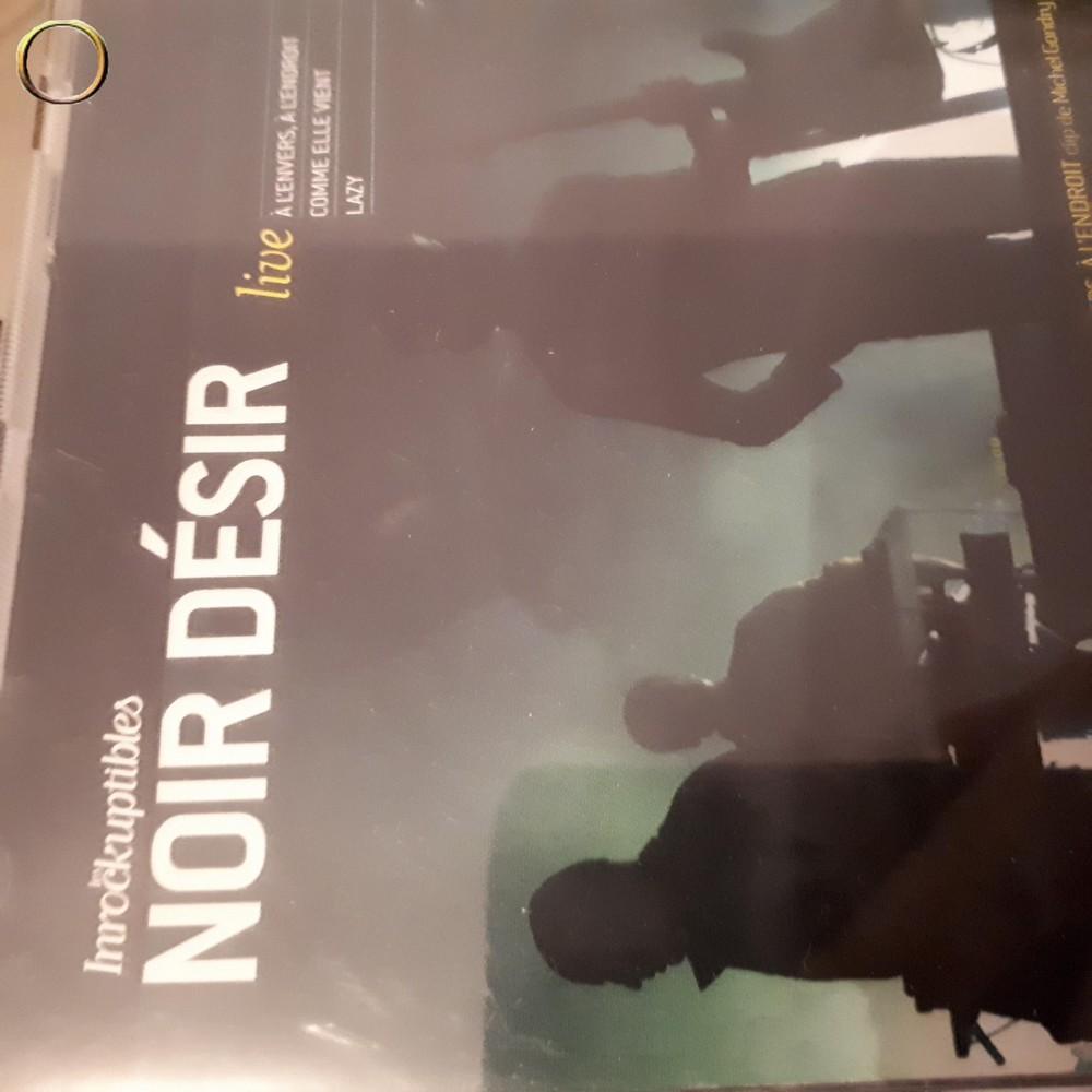 CD NOIR DESIR LE LIVE