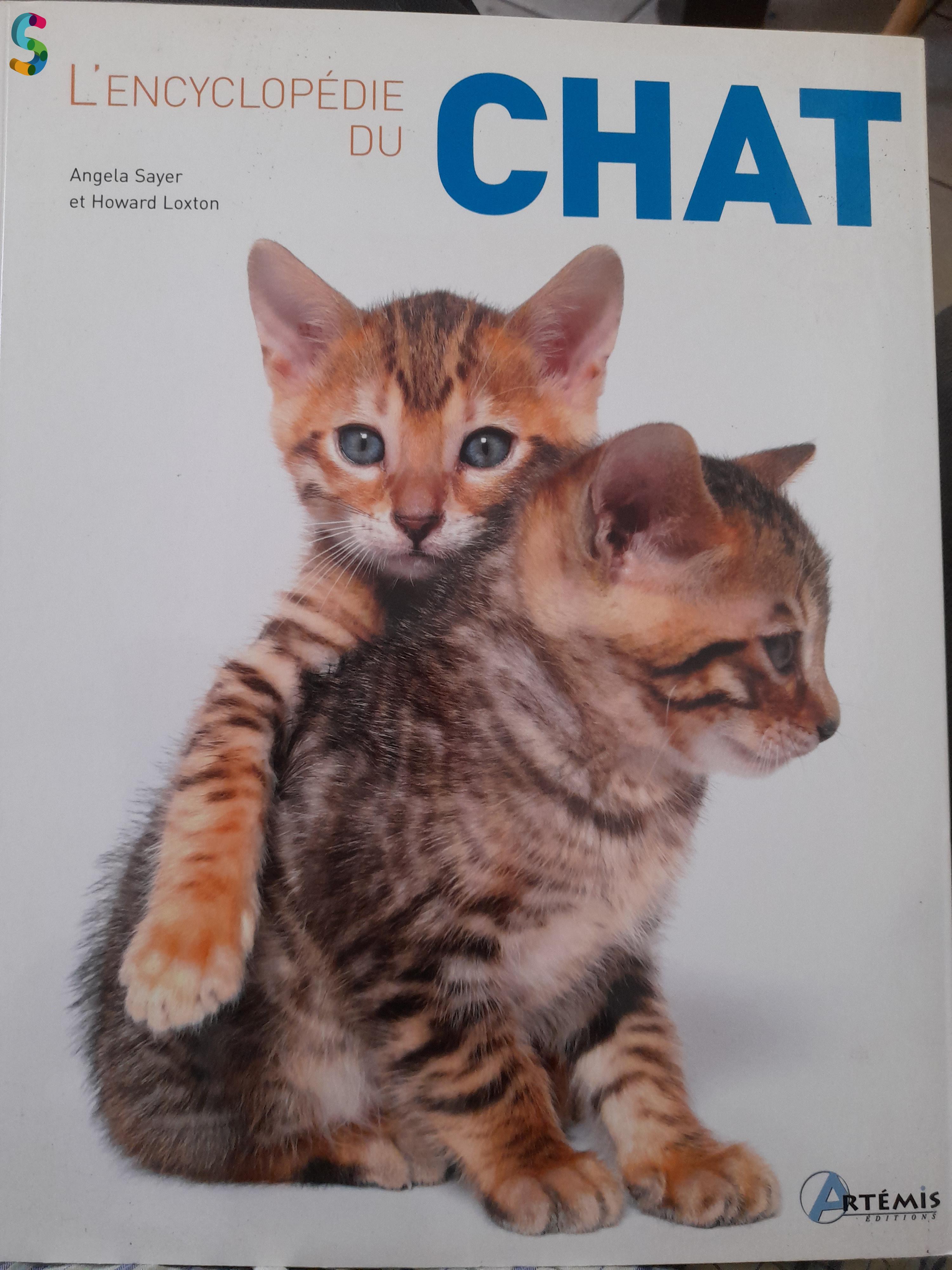 Livre l'encyclopédie du chat