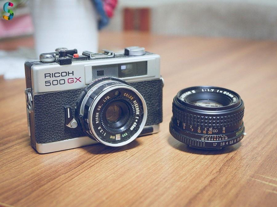 Appareil photo RICOH 500 GX