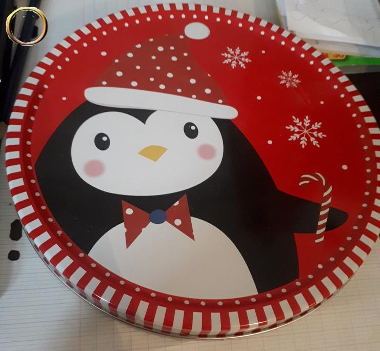 Belle boîte de décoration - Noël