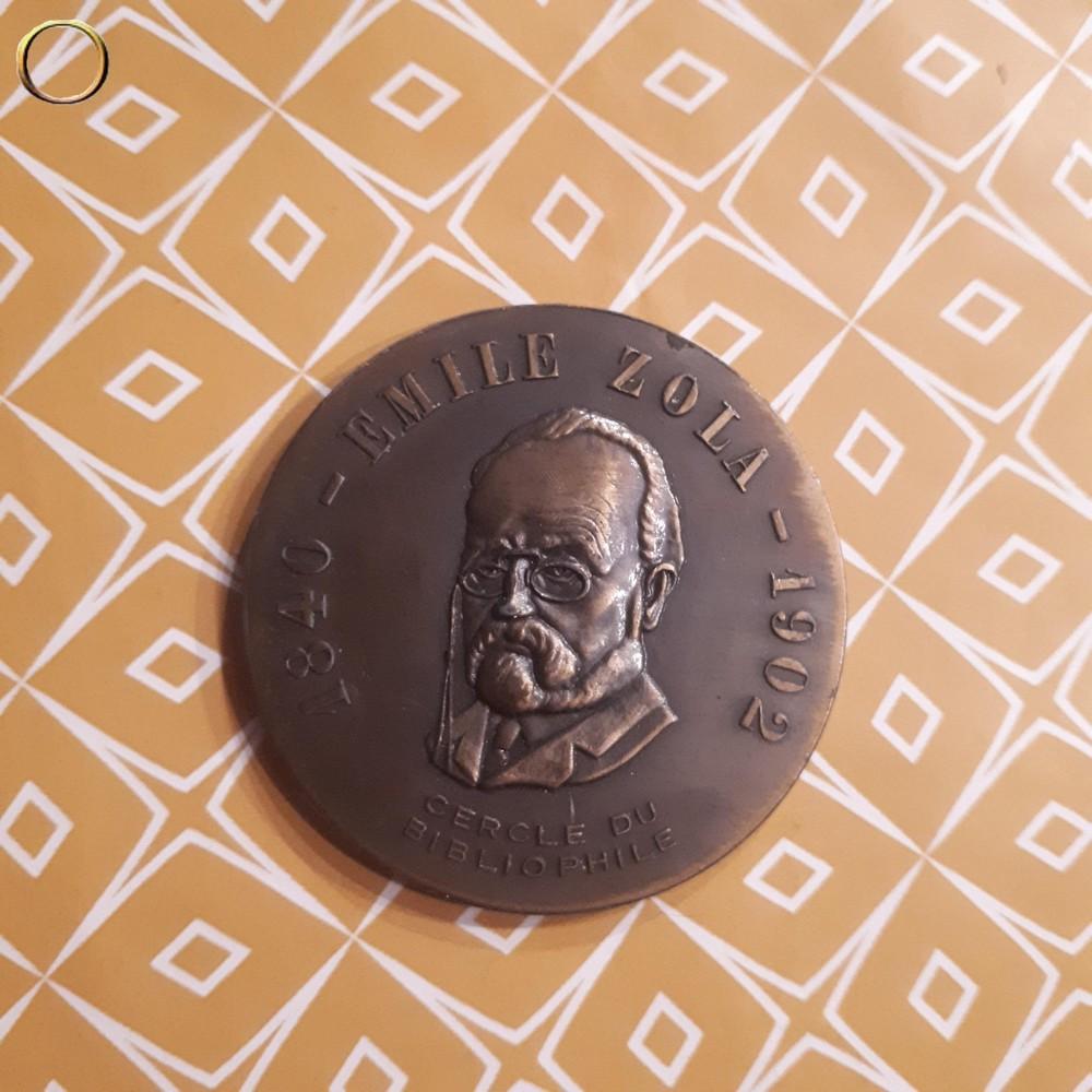 Médaille EMILE ZOLA