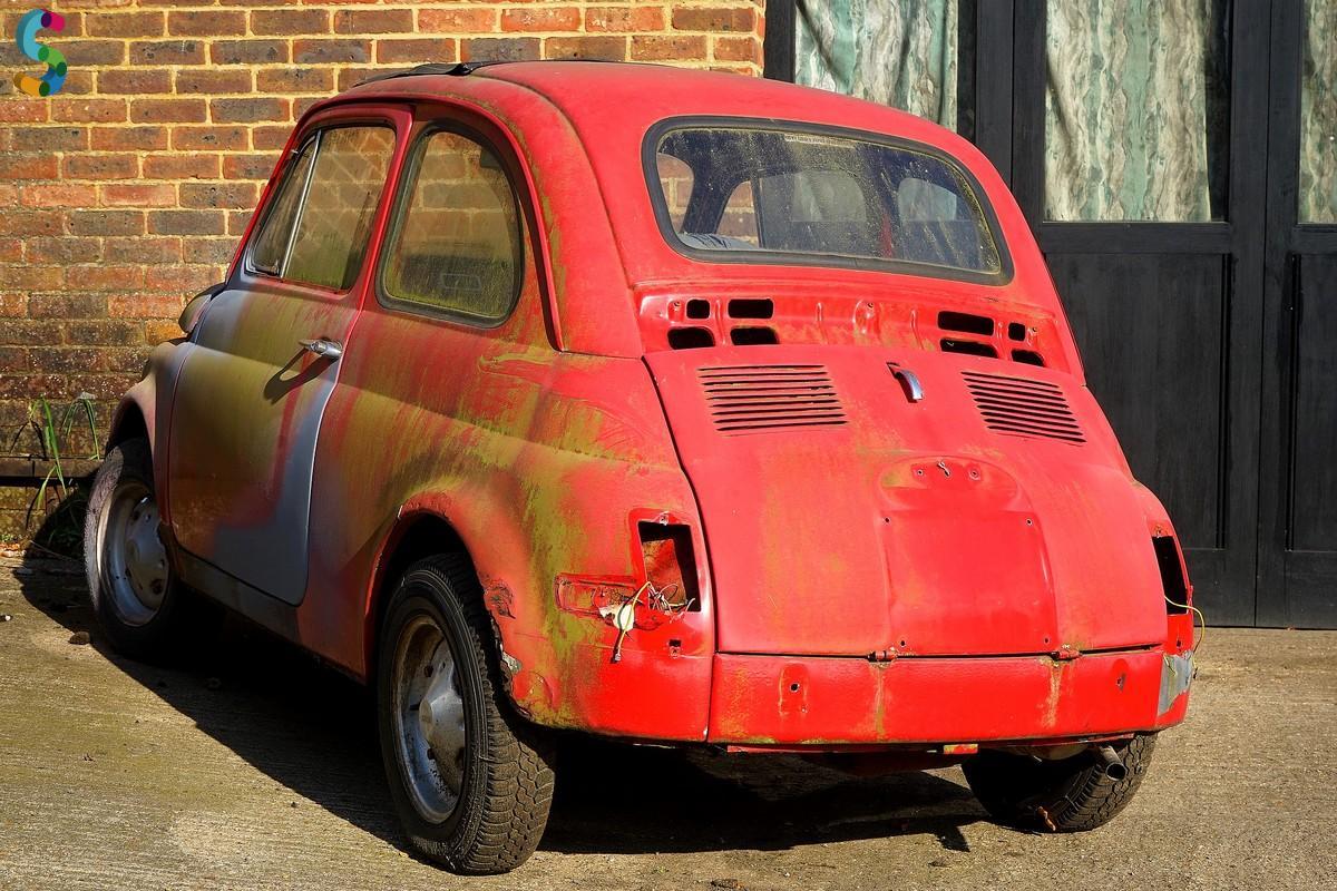 Fiat 500 à restaurer
