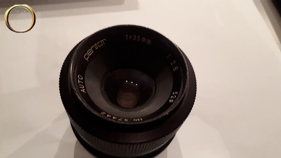 Ancien objectif PENTOR - f= 35mm - Appareil et accessoires photo collection