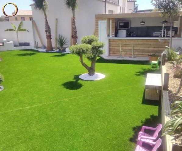 Paysagiste - élagueur - Montpellier - Entretien espaces verts - Tonte pelouse