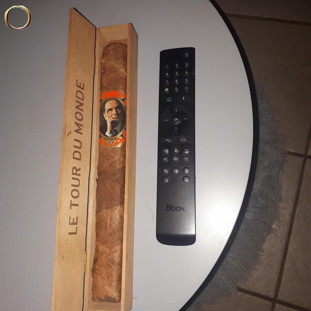 Cigare bagué LE TOUR DU MONDE FRANCOIS MITTERAND