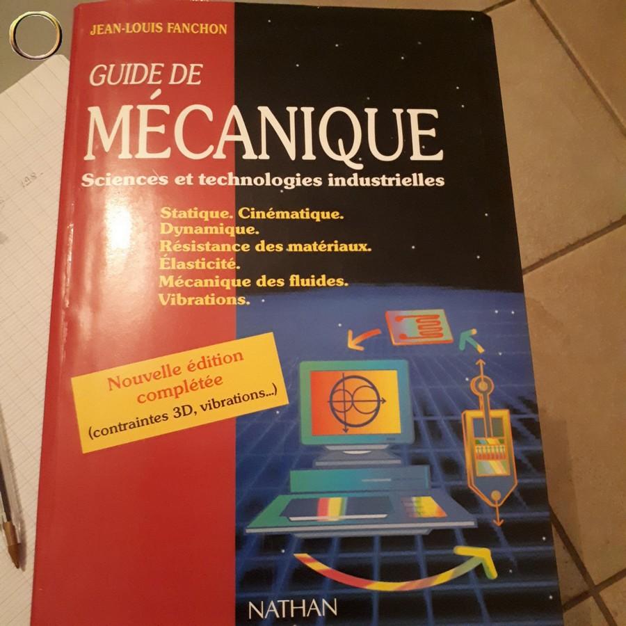 Livre Guide de Mécanique