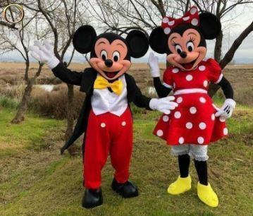 Animations mascottes Mickey et Minnie - Anniversaire - Soirée -