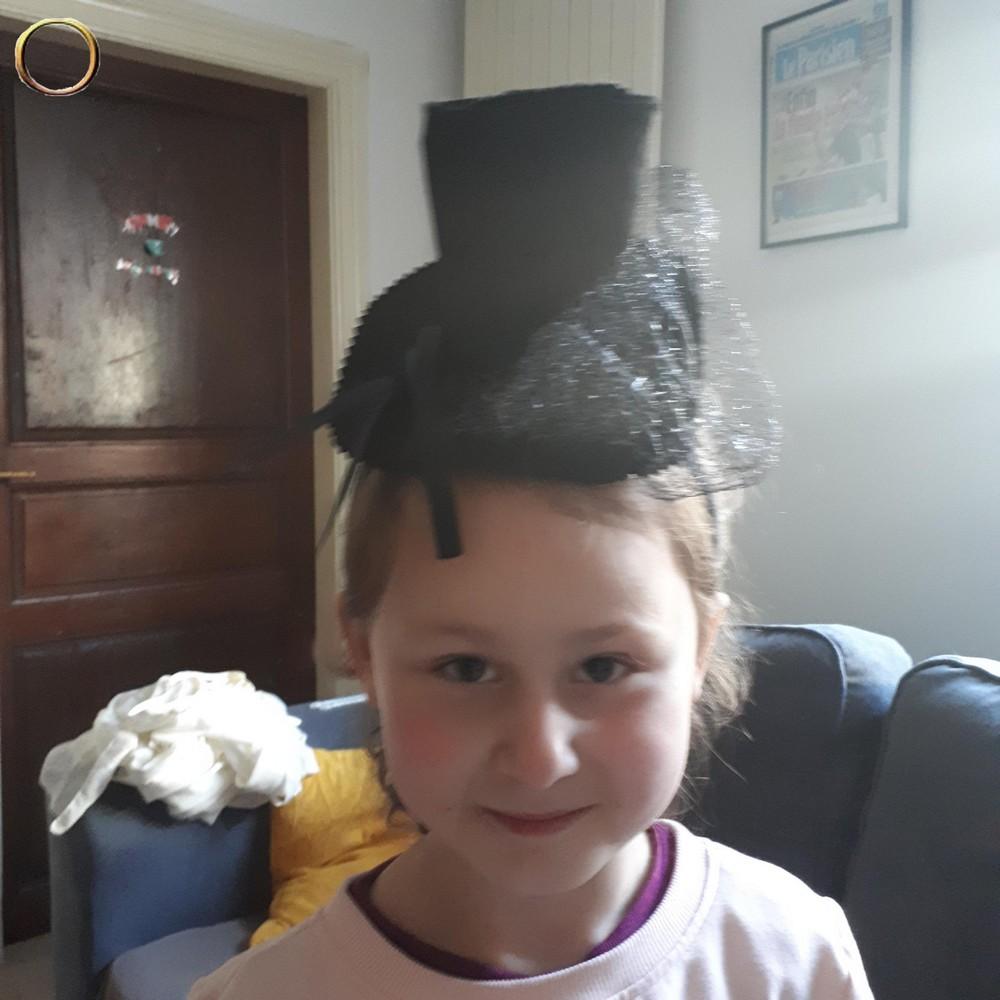 Chapeau serre tête halloween pour enfant
