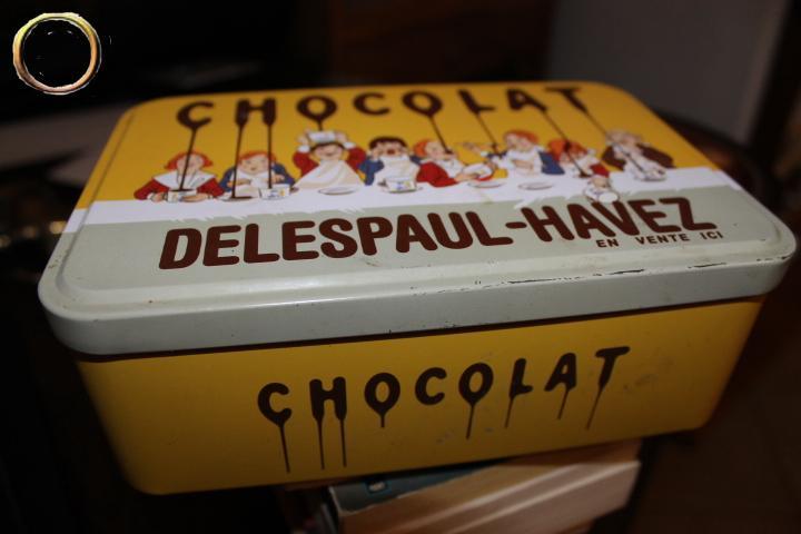 Boîte collection métal - chocolat