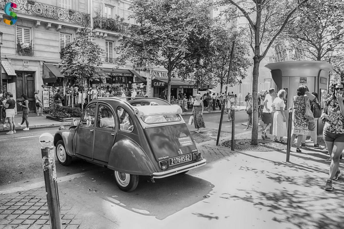 Visite de Paris en 2CV - Ballade - Tourisme