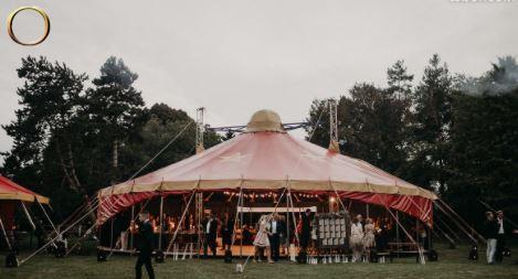 Location d'un chapiteau de cirque