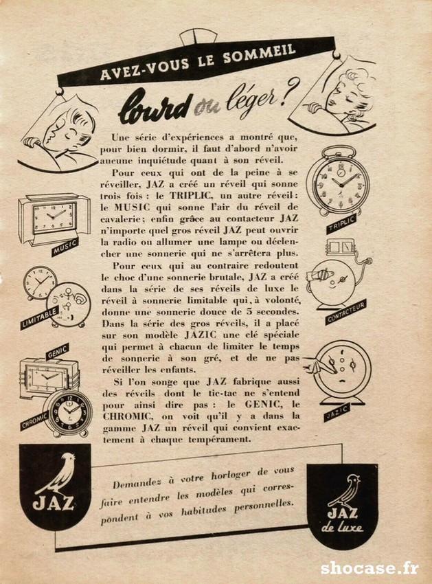 Publicité JAZ TRIPLIC - JAZIC - GENIC - CHROMIC