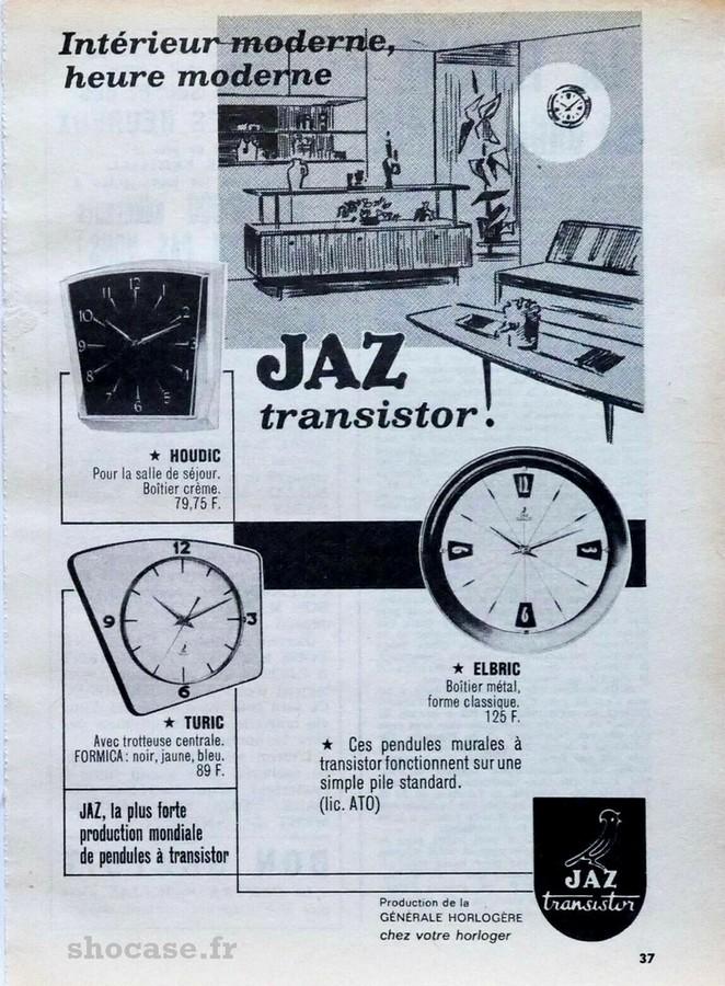 Publicité JAZ