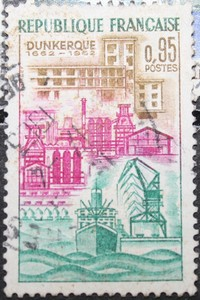Timbre 0.95F Dunkerque