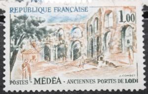 Timbre 1F MEDEA Anciennes portes de LODI