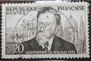 Timbre 0,20 F Pierre De Nolhac