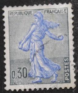 Timbre 0,30 F La semeuse 1961
