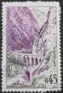 Timbre 0,45 F Gorges de KERRATA