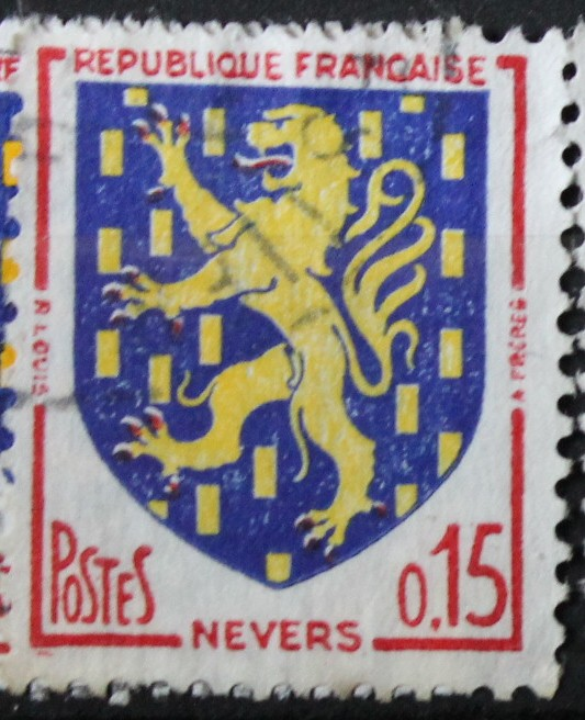 Timbre 0,15 F Nevers 1962