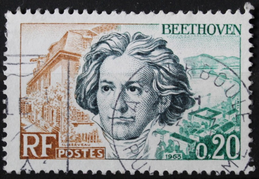 Timbre 0,20 F BEETHOVEN