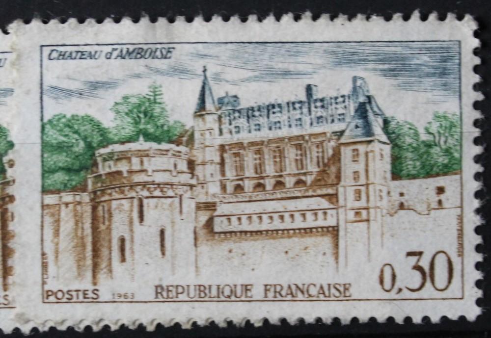 Timbre 0,30 F Chateau d Amboise