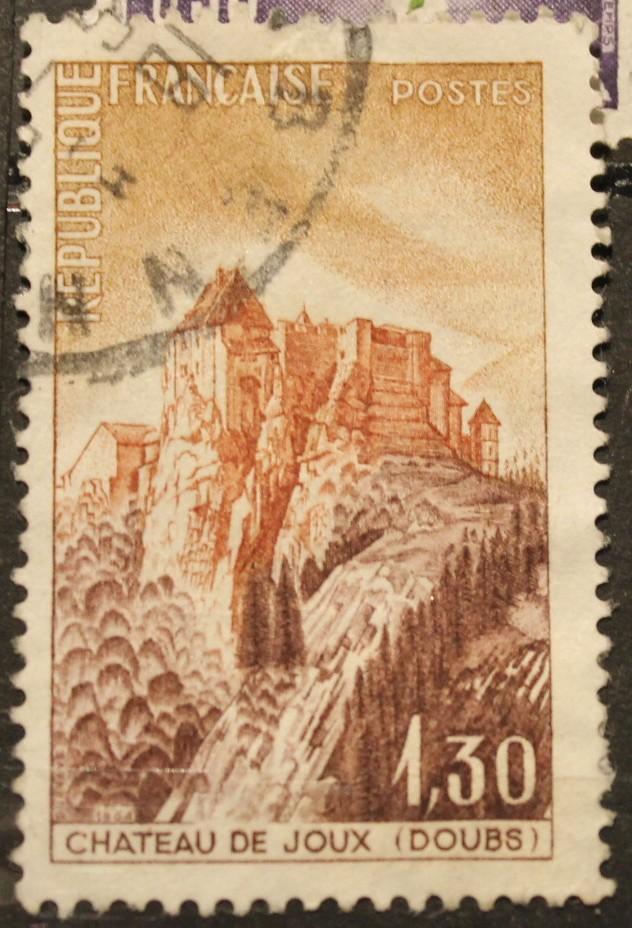 Timbre 1,30 Chateau de Joux