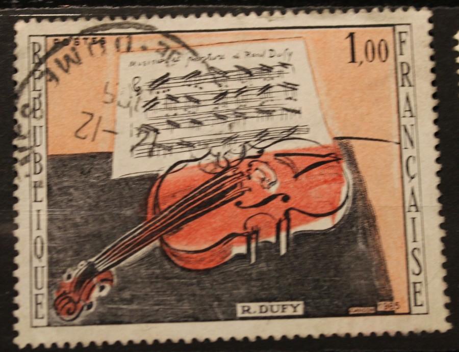 Timbre 1,00 violon
